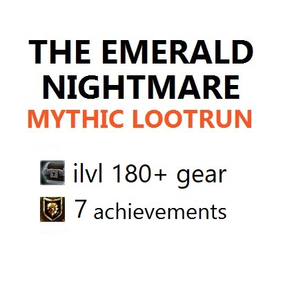 Emerald Nightmare Mythic boost