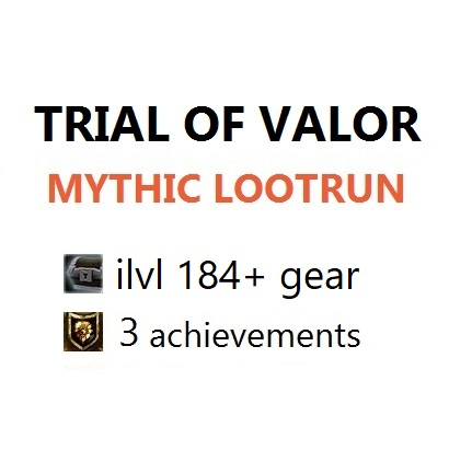 Trial of Valor Mythic boost