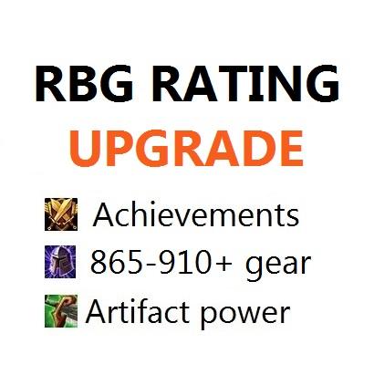 RBG custom rating upgrade (Selfplayed)