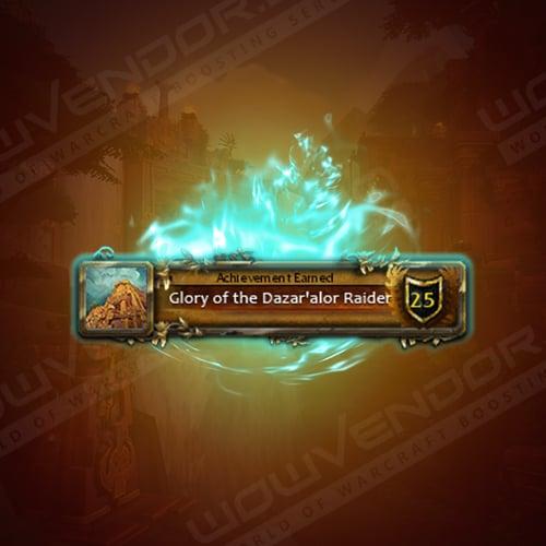 Glory of the Dazar'Alor Raider Boost