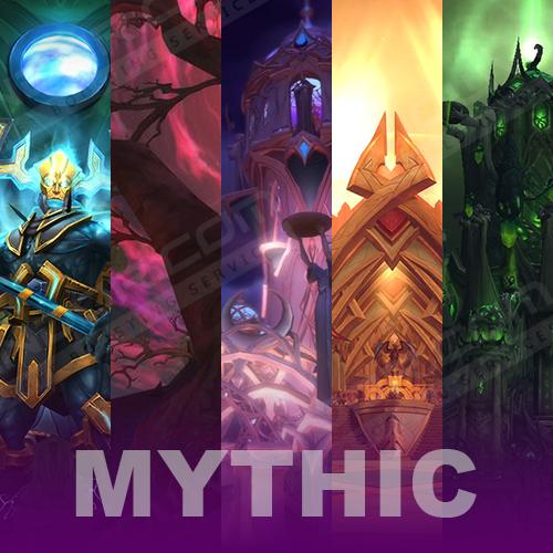 Legion Mythic Transmog Set Run (Selfplayed)