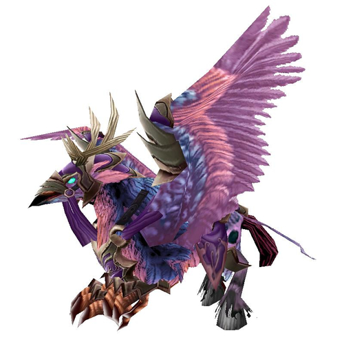 Long-Forgotten Hippogryph mount