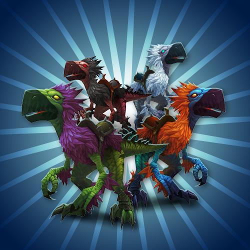 Falcosaur mounts boost