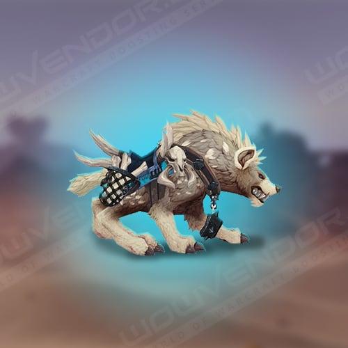 Alabaster Hyena mount boost