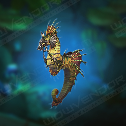 Saltwater Seahorse Mount Boost