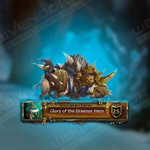 Glory of the Draenor Hero Boost