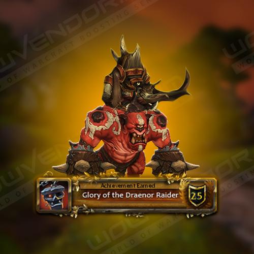 Glory of the Draenor Raider Boost