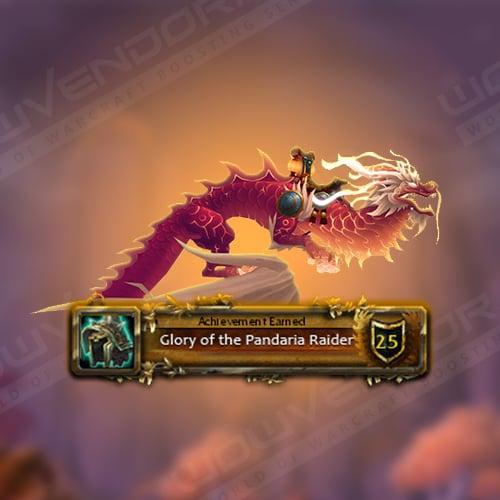 Glory of the Pandaria Raider Boost