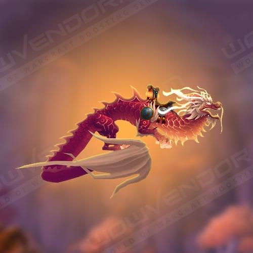 Heavenly Crimson Cloud Serpent Mount Boost