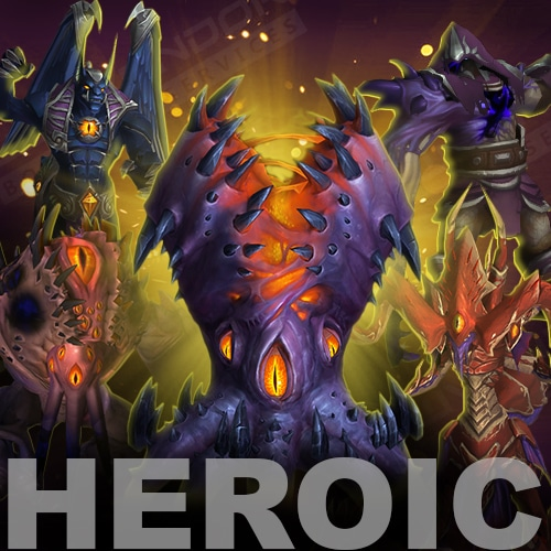 Nyalotha Heroic Raid Boost