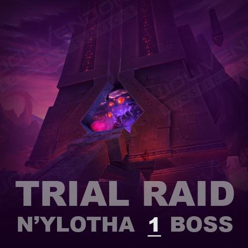 Nyalotha Heroic Trial Raid (1 boss)