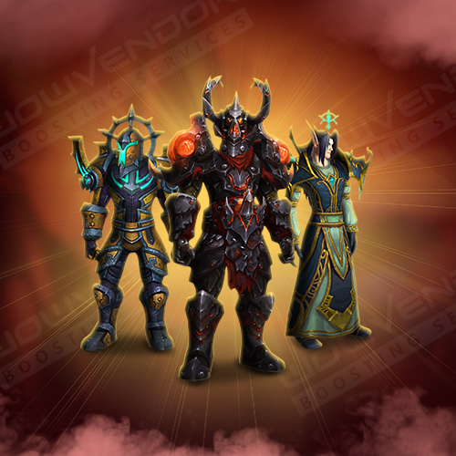 WoD PvE Transmog Sets Boost
