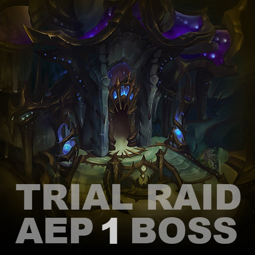 Eternal Palace HC Trial Raid (1 boss)