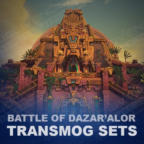 Battle of Dazar Alor Transmog Boost (Selfplayed)