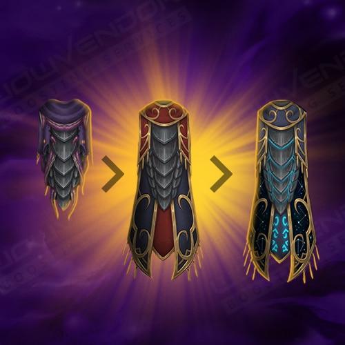 Legendary cloak R15 upgrade boost