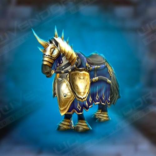 Charger Paladin lvl 60 mount Boost
