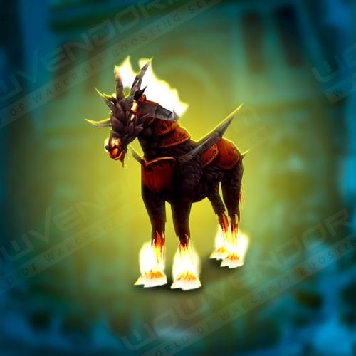 Dreadsteed Warlock lvl 60 mount Boost