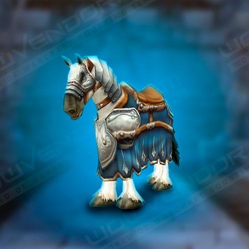 Warhorse Paladin lvl 40 mount Boost