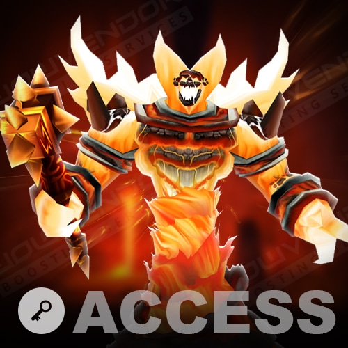 Molten Core attunement access