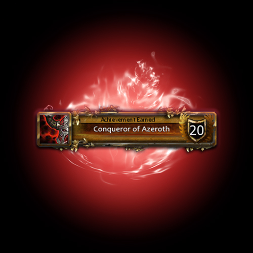 Conqueror of Azeroth achievement boost