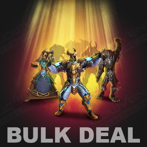 Shadowlands Powerleveling to 60 – Bulk Deal