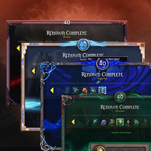 Shadowlands Renown X2 Weekly Cap Boost