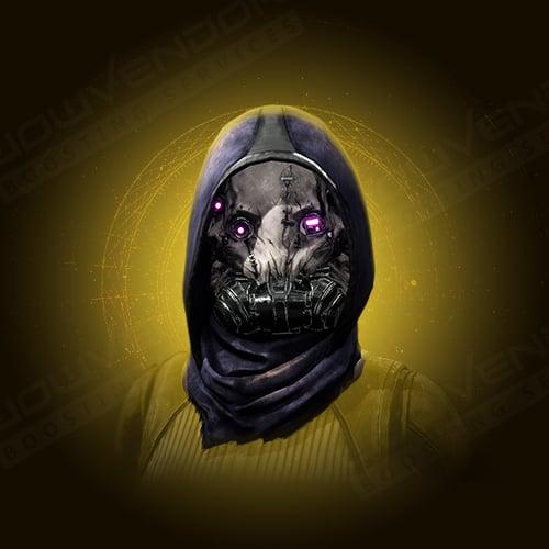 Mask of Bakris Exotiс Hunter Helmet Farm