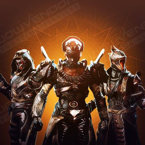 Trials of Osiris full flawless set Boost