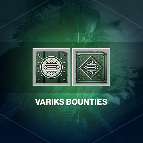 Variks bounties & challenges Boost