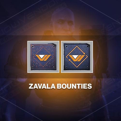 Commander Zavala daily & weekly bounties boost