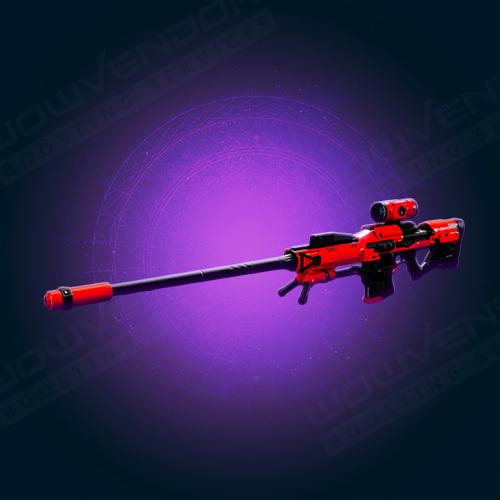 Frozen Orbit legendary sniper rifle boost