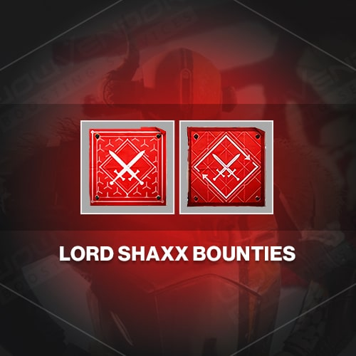 Lord Shaxx weekly & daily bounties boost