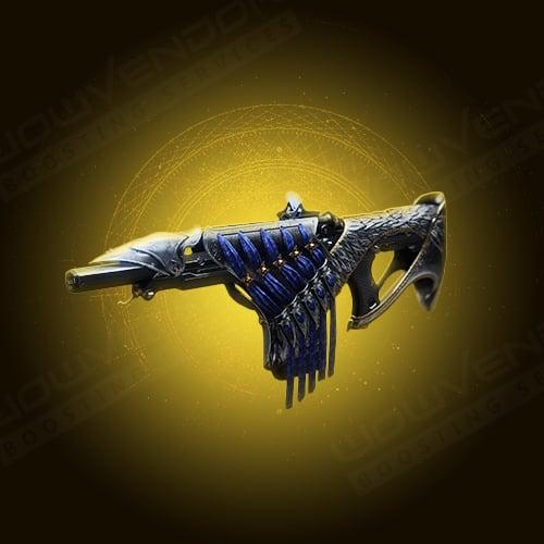 Bastion Exotic kinetic fusion rifle boost