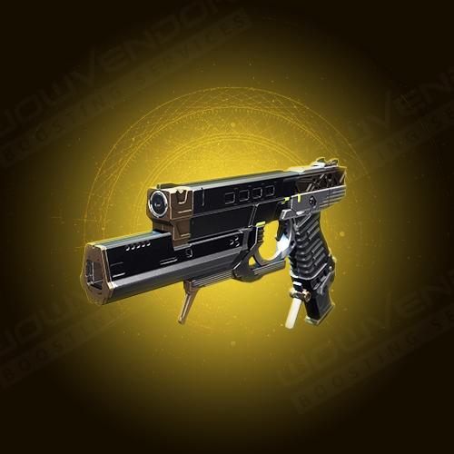 Devil's Ruin Exotic energy sidearm boost