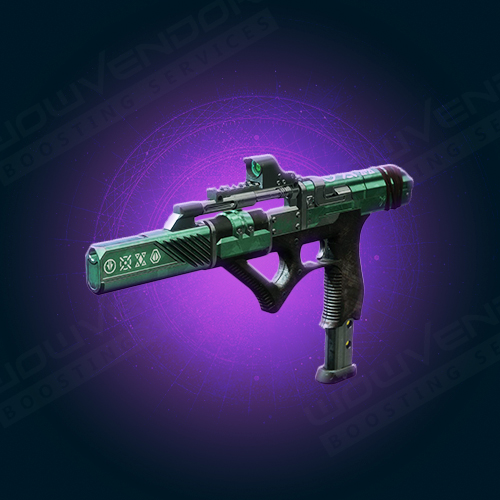Exit Strategy legendary kinetic submachine gun boost