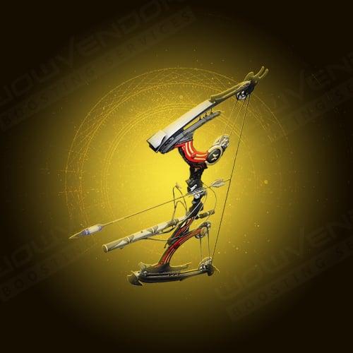 Le Monarque exotic energy combat bow boost