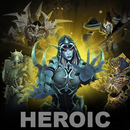 Sanctum of Domination Heroic Raid Boost (Selfplayed)
