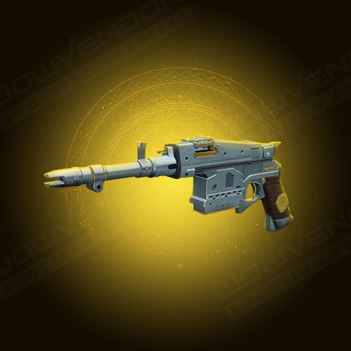Sturm Exotic kinetic hand cannon boost