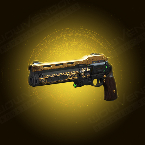 The Last Word exotic kinetic hand cannon boost