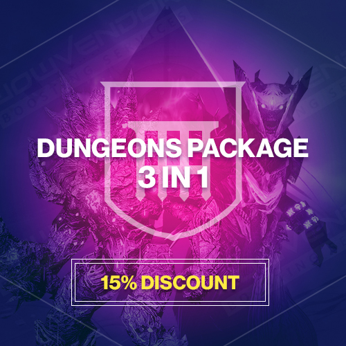 3 in 1 Dungeons Package Boost