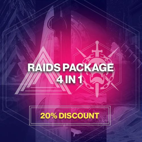 4 in 1 Raids Package Boost