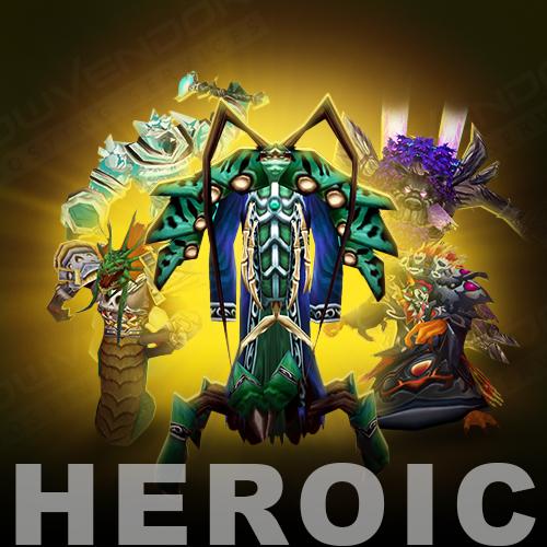 TBC Heroic mode dungeons farm