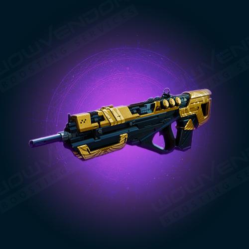 The Messenger Adept Legendary Kinetic Pulse Rifle Boost