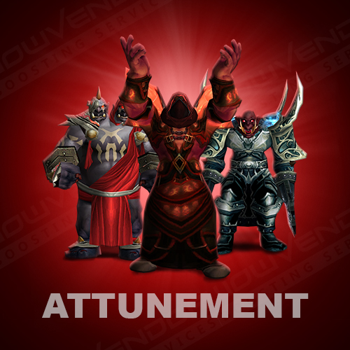 TBC The Shattered Halls NM Access Attunement