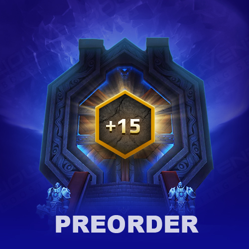 Preorder 9.1 Mythic+ boost