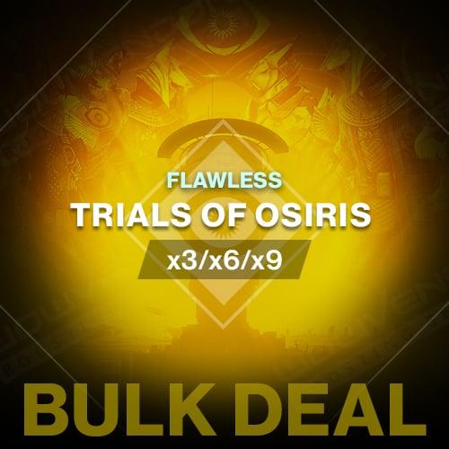 Trials of Osiris Flawless Boost – BULK DEAL