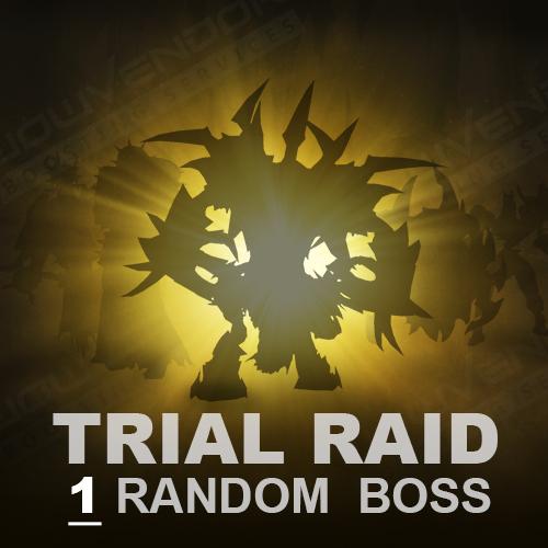 Sanctum of Domination Trial Raid (1 Boss)