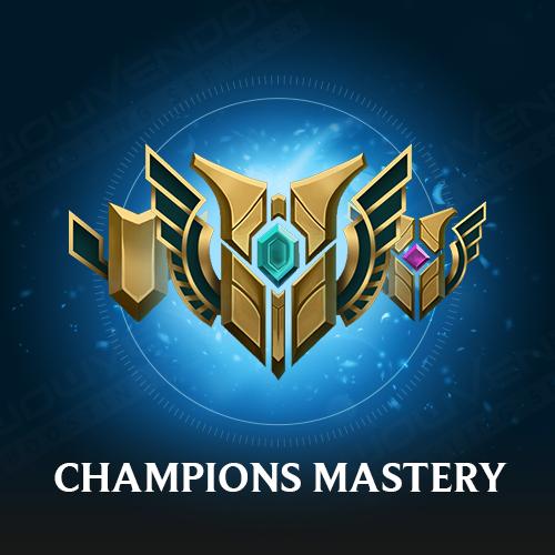 Champion Mastery boost