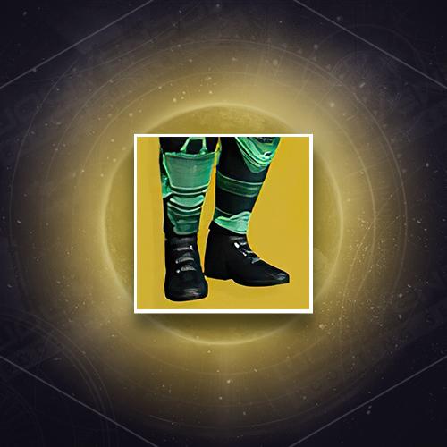 Radiant Dance Machines Exotic Hunter Legs Armor Boost