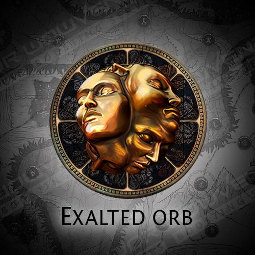 Exalted Orbs boost